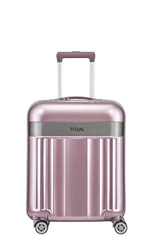 TITAN 4-Rad Handgepäck Koffer mit TSA Schloss, erfüllt IATA Bordgepäckmaß,...