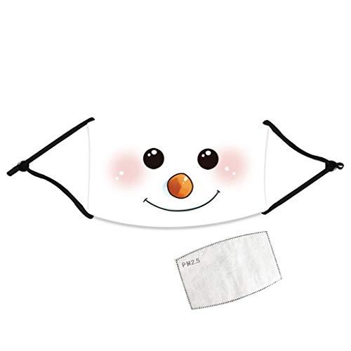 PcLeam Weihnachten Face Cover...