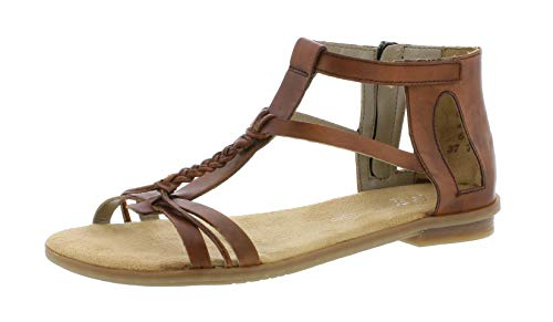 Rieker Women's 64238 24 Gladiator Sandals: Amazon.co.uk