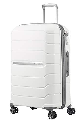 SAMSONITE Flux - Spinner 75/28 Expandable Bagage cabine, 75 cm, 121 liters, Weiß
