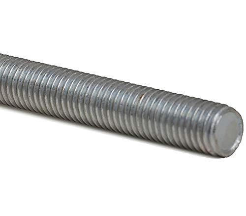 M18 x 1000 mm - G/üte 8.8 2 St/ück - DIN 976 // DIN 975 SC-Normteile SC976 Gewindestange galvanisch verzinkt