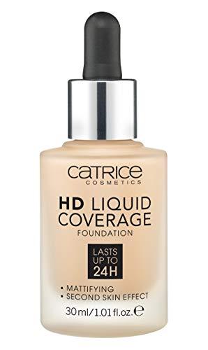 Catrice Make-up HD Liquid Coverage Foundation Sand Beige 30 1er Pack(1 x 150 grams)