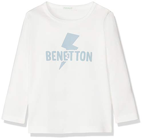 United Colors of Benetton Baby-Jungen Pantalone Felpa Banda Lurex Hose