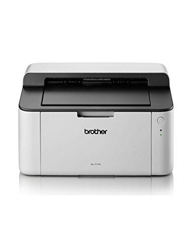 Brother HL-1110 A4 Monochrome Laserdrucker grau/weiß