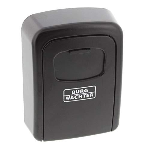 BURG-WÄCHTER Schlüsseltresor mit Zahlenschloss, Key Safe 30 SB, Stahl, Schwarz