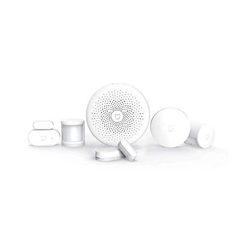 Mi Smart Sensor Set, Weiß, Control Hub, Bewegungssensoren, Tür-/Fensterkontakt, Drahtloser Switch (6er Set)