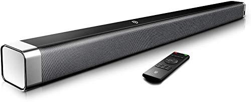 Soundbar 2.0 Kanal,BOMAKER 120 dB 37 Zoll Lautsprecher Bluetooth 5.0 mit...
