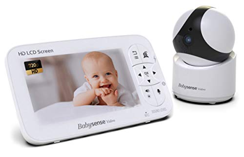 5' HD Baby Monitor, BabySense Video-Babyphone - Säuglingsmonitor mit...