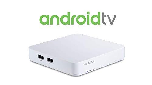 Android-TV-ruutu HIMEDIA S500 4K (Ultra-HD) HDR10   Mini PC (neliydinprosessori, HDMI 2.0b, kaksikaistainen WLAN-ac, Bluetooth 4.2)