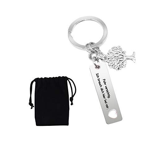 L&H Gadgets Drive Safe Schlüsselanhänger - Fahr Vorsichtig, Ich brauch Dich...
