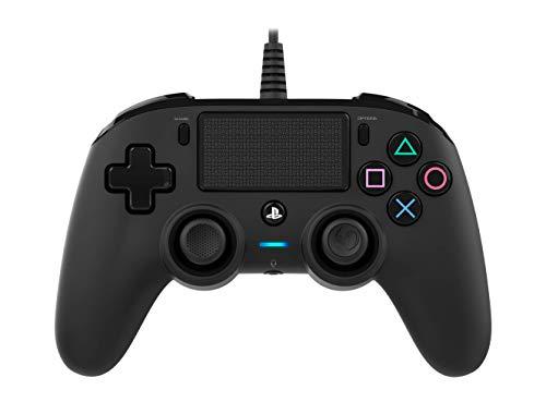 Nacon - Compact Controller für PS4, Schwarz