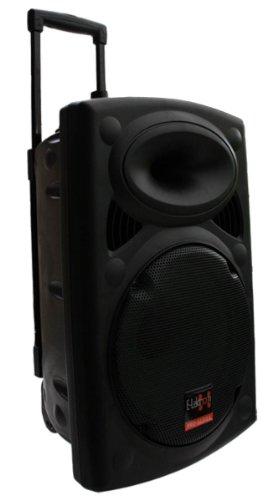 E-Lektron EL30-M Mobile PA Sound Anlage Akku-MP3-USB-SD inkl. Funkmikrofone 700W...