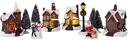 Bambelaa! Weihnachtsstadt 11 tlg. Winterdorf Weihnachtsdorf Weihnachtsszene...