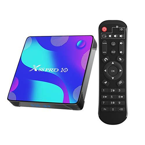 Android 10.0 TV Box, Smart Box 2GB RAM 16GB ROM RK3318 Quad-Core 64bit...