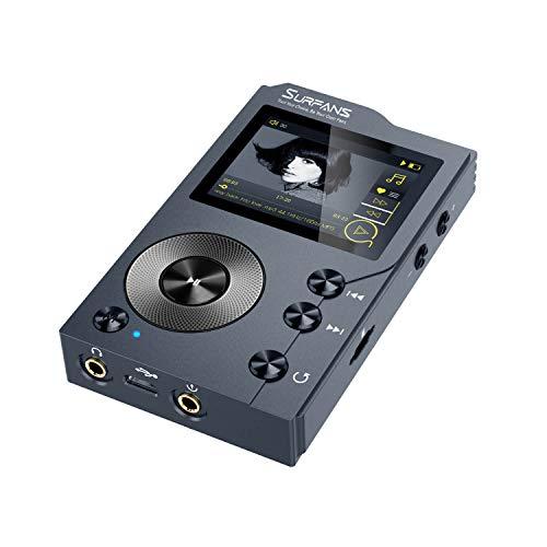 Surfans F20 - MP3 Player mit Bluetooth, DSD DAC, Verlustfreier hochauflösender...