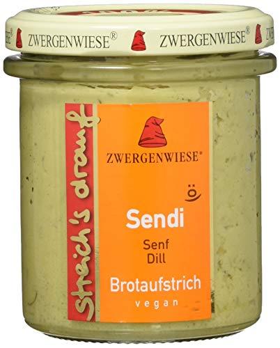 Zwergenwiese Bio Aufstrich streichs drauf Sendi (senf-Dill) laktosefrei, 160 g