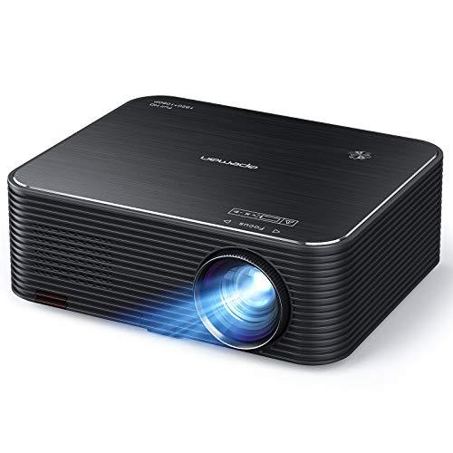 Native 1080P Beamer, APEMAN Full HD Projektor, 300 ' LED Display Unterstützt 4K...