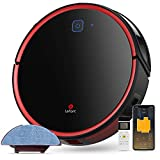 LEFANT robot vacuum cleaner with wiping function, 2200Pa WiFi robot vacuum cleaner, compatible with Alexa and ...