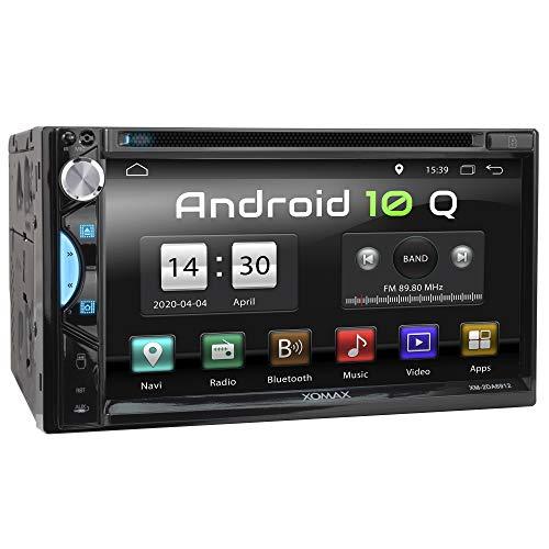 XOMAX XM-2DA6912 Autoradio mit Android 10, Quad Core, 2GB RAM, 32GB ROM, GPS...