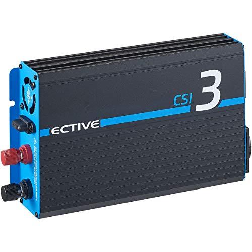 ECTIVE 300W 12V zu 230V Reiner Sinus-Wechselrichter CSI 3 mit...