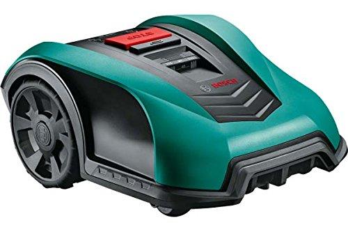 Bosch Indego 400Connect 06008B0101 Elektrischer Rasenmäher-Roboter, kabellos, Mulchfunktion, Schnitt 19cm