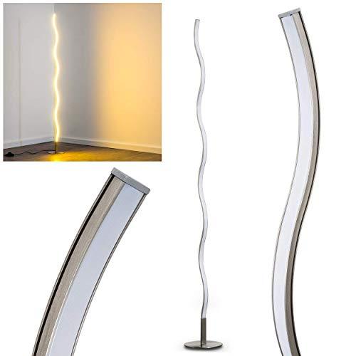 LED gulvlampe Dillon laget av metall - buet ...