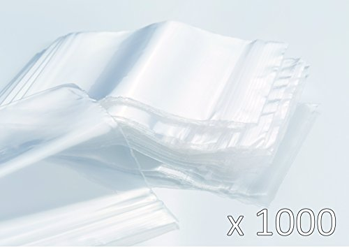 Transpa Extra Stark Heizip 100 X Druckverschlußbeutel 80 X 120 Mm 90 Mµ//My