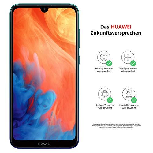 Huawei Y7 2019 Dual-SIM Smartphone 15,9 cm (6,26 Zoll) (4000mAh Akku, 32 GB...