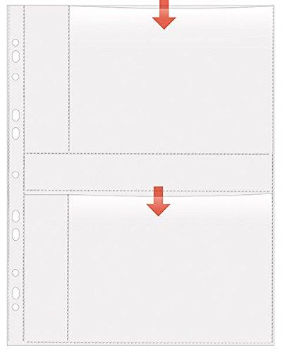10 Stück weiß 13 x 18cm quer Herma 7587 Fotophan Fotosichthüllen