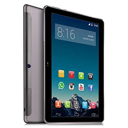 4G LTE Tablet PC 10 Zoll Dual SIM - TOSCIDO Android 9.0 Zertifiziert von Google GMS,Quad Core,64GM eMMC,4GB RAM,Doppelt Lautsprecher...