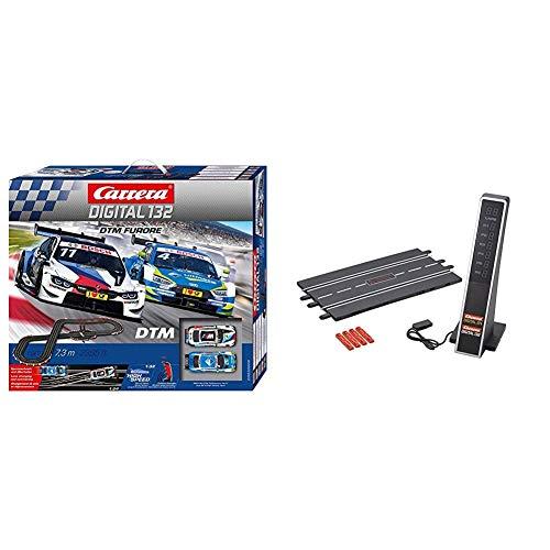 Carrera DIGITAL 132 DTM Furore Autorennbahn Set│ 2 ferngesteuerte Slotcars...