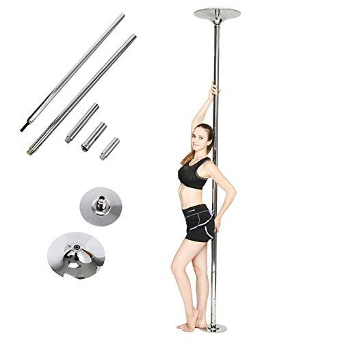 FEMOR 45 mm Pole DanceTanzstange Tabledance Strip Stange Edehlstahl stabil, mit Static,Spinning-Funktion sowie einer höheren Belastbarkeit leicht...