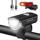 Adventurer LED-fietsverlichtingsset, LED-fietsverlichting USB ...