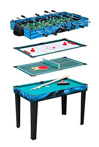 small foot 11279 Multifunktionstisch 4 in 1 aus Holz, Spielset mit...