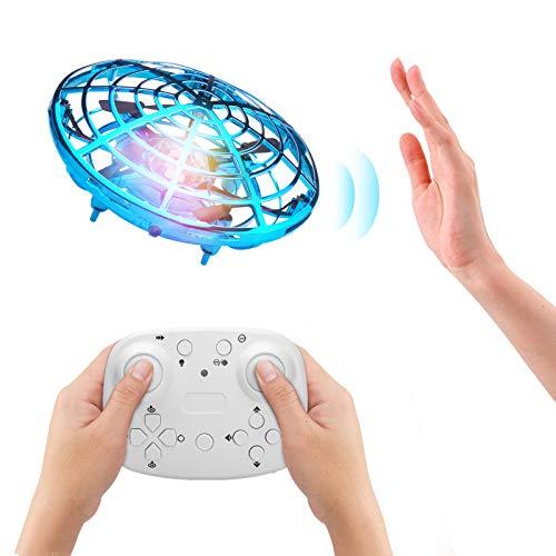 ShinePick UFO Mini Drohne, Kinderspielzeug, Fernbedienung und Handsensor RC...
