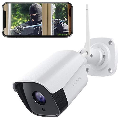 Victure 1080P Überwachungskamera Aussen WLAN IP Kamera wasserdichte...
