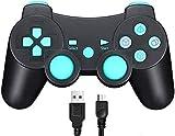 TPFOON Wireless Controller für Sony PS3, Bluetooth Dual...