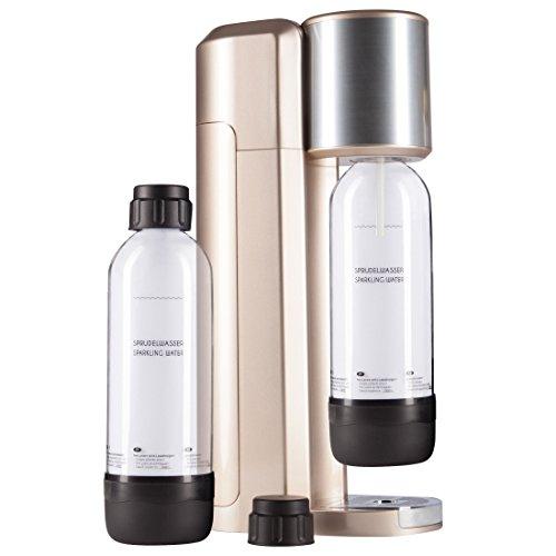 Levivo Wassersprudler Set / Trinkwassersprudler Starter Set inkl. 2...