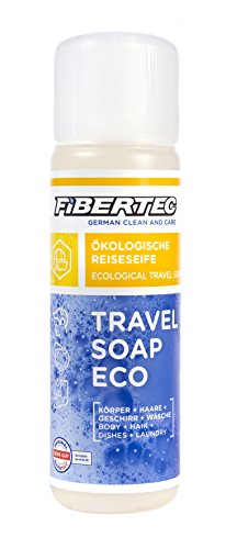 Fibertec Travel Soap Eco 250ml | Reiseseife | Alles-und-überall Seife | Outdoor...