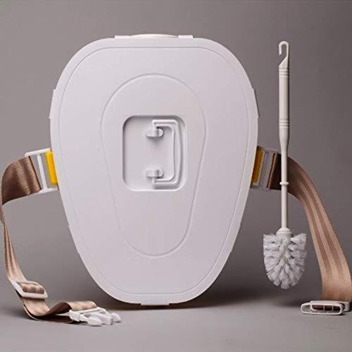 Joyfitness Reise-Auto Mobiltoilette Auto-Toilette Mobiltoilette Geeignet für Verschiedene Modelle,Blue,38x30x12cm