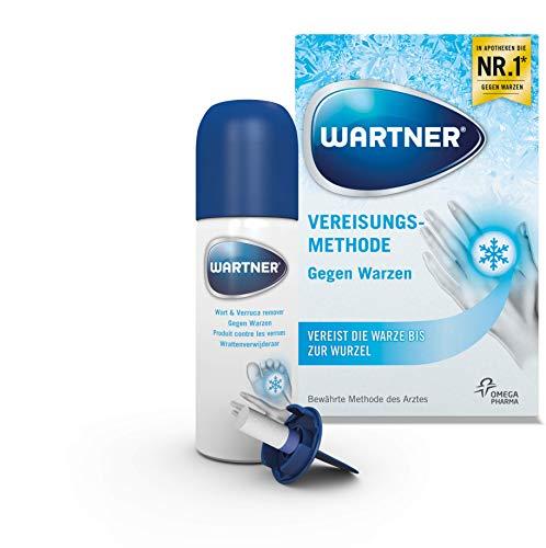 WARTNER Vereisung gegen Warzen und Fußwarzen (Spray zur Entfernung von Warzen, Warzen-Kryotherapie zur Selbstbehandlung für Kinder ab 4 Jahren und...
