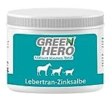 Green Hero Levertraan Zinkzalf voor paarden, honden en katten ...