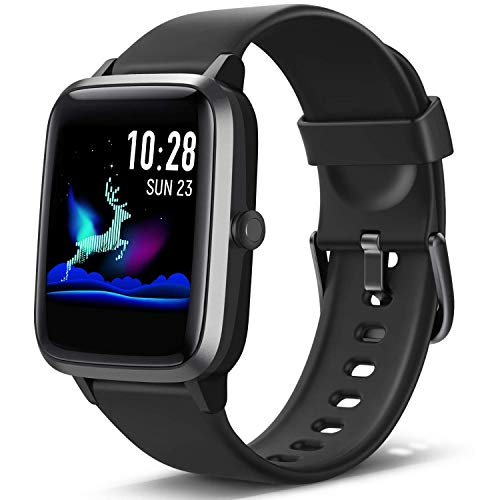 Lintelek Smartwatch Fitness Armband mit 1,3 Zoll Voller Touch Farbdisplay Screen Fitness Uhr IP68 Wasserdicht Home Exercise Armbanduhr Fitness Tracker...