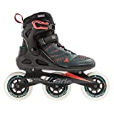 Rollerblade Unisex - Adults MACROBLADE 110 3WD Inline Skate, Teal Green / Orange Burst, 270