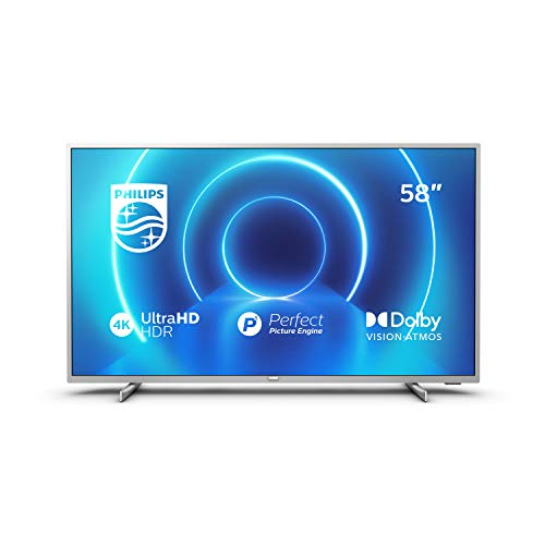 Philips 58PUS7555/12 Fernseher 146 cm (58 Zoll) LED TV (4K UHD, P5 Perfect...