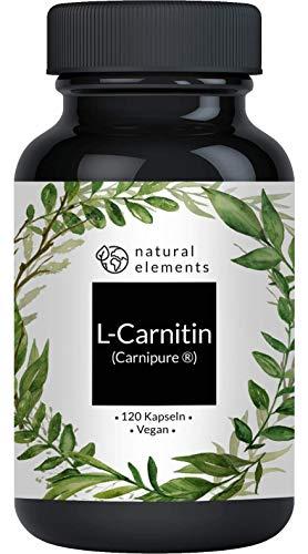 L-Carnitin 3000 - Vergleichssieger 2020* - Premium: Carnipure® von Lonza - 120...