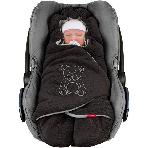 TupTam Baby Winter Einschlagdecke f/ür Babyschale