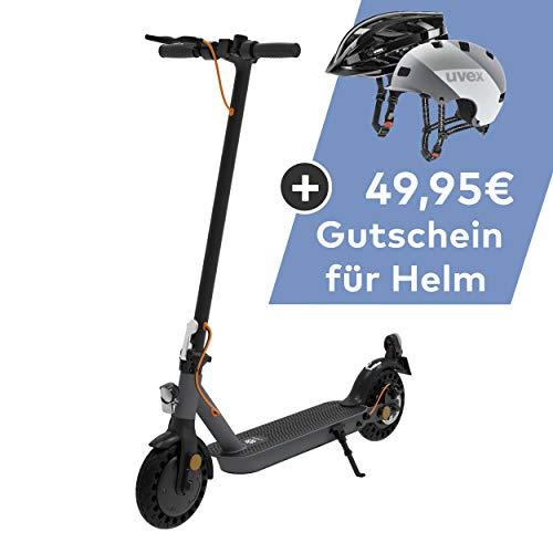 TREKSTOR e.Gear EG3178 E-Scooter mit Straßenzulassung (eKFV), 350 W Motor, 270 Wh Batterie, 25 km Reichweite, 8,5 Zoll Reifen, Stoßgedämpft,...