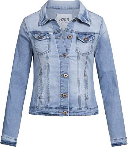 Hailys модная женская джинсовая куртка