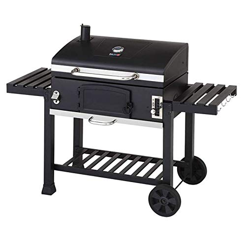 TAINO Hero XXL BBQ Smoker GRILLWAGEN Holzkohle Grill Grillkamin Standgrill...